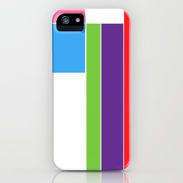 Color Test 1 iPhone Case