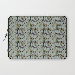 Dead Rose & Snapdragon Pattern Laptop Sleeve