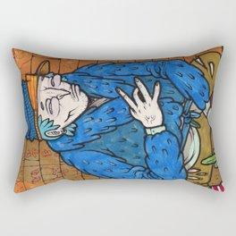 PIMPIN IN BLOOD ALLEY Rectangular Pillow