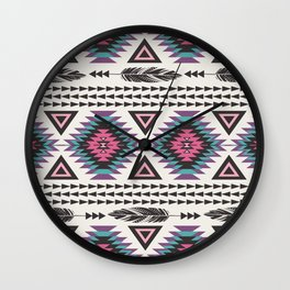 Tribal Spirit Wall Clock