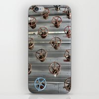 industrial iPhone & iPod Skins featuring Industrial by Avigur