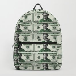 Uncut Sheet of Proposed African American Icon Harriet Tubman U.S. Mint 20 Dollar bills Backpack