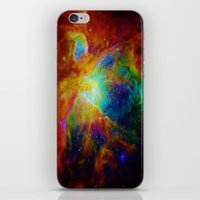 nebula iPhone & iPod Skins featuring Orion NEBula  : Colorful Galaxy by 2sweet4words Designs