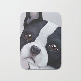 Boston Terrier Bath Mat