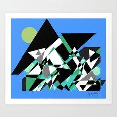 The Epic Climb Art Print