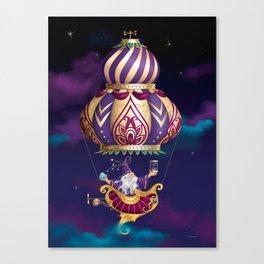 Celestial Timekeeper Canvas Print