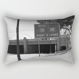 JFK Assassination Bridge Rectangular Pillow