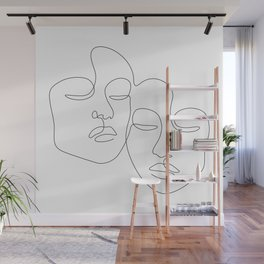 Twins Wall Mural
