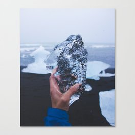 A Heart as Cold as Ice Canvas Print