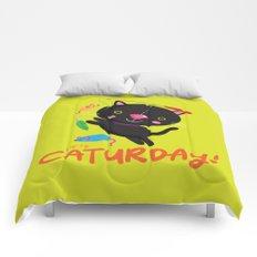 Caturday Series: Kimchi Comforters