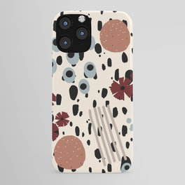 Cheetah Floral iPhone Case
