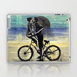 True blue love Laptop & iPad Skin