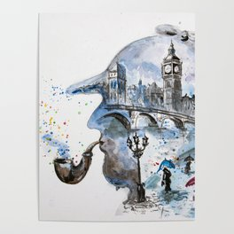 Mr. Sherlock Poster