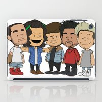 1d iPad Cases featuring Schulz 1D by Ashley R. Guillory
