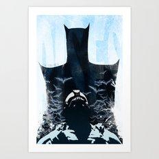 Rises Art Print