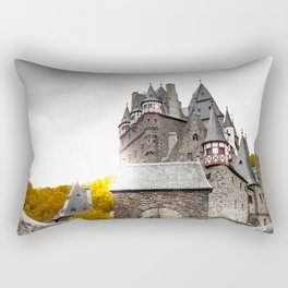Castle in the Woods 4 Rectangular Pillow