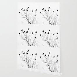 Crow Tree Wallpaper