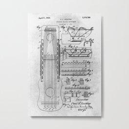 Stringed musical instrument Metal Print