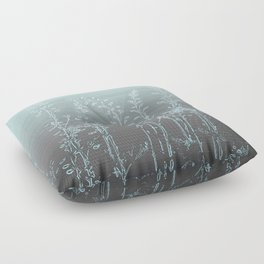 WILDFLOWERS - STRIPED OMBRE Floor Pillow