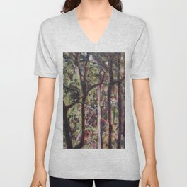 The Australian forest Unisex V-Neck