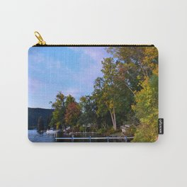 Autumn Arrives at the Lake Carry-All Pouch