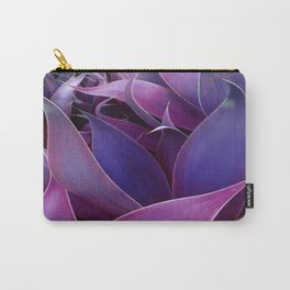 Leaves Abstract Magenta Pink Purple Carry-All Pouch