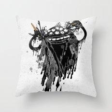 Monsta.Ink! Throw Pillow