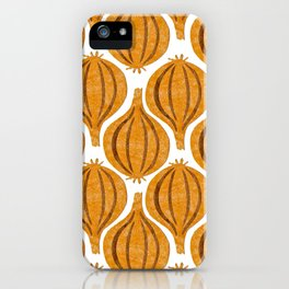 pattern onion iPhone Case