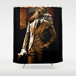 Dodo-men Shower Curtain