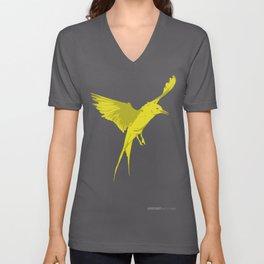 Ruffle Your Feathers Unisex V-Neck