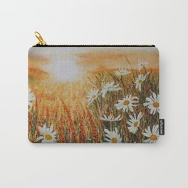Sunset daisies Carry-All Pouch