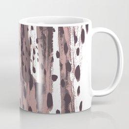 Rose and Dark Violet Coffee Mug