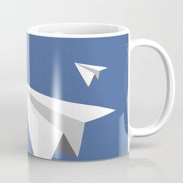 Paper Plane Fleet Coffee Mug
