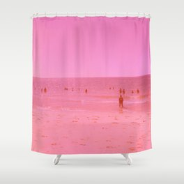 Summer in pink Shower Curtain