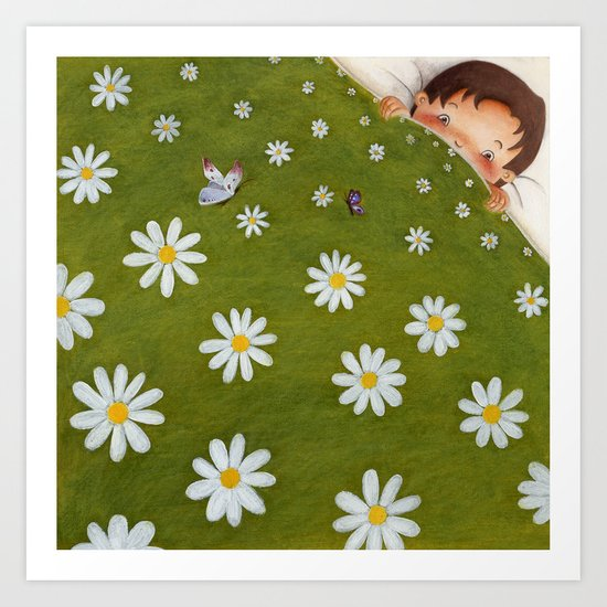 Welcome back spring! Art Print