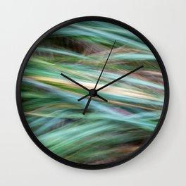Windy hay Wall Clock