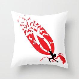 One Punch Man - genos Blast Throw Pillow