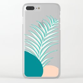 Spring Palm #society6 #spring Clear iPhone Case