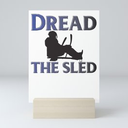 Dread the sled Mini Art Print