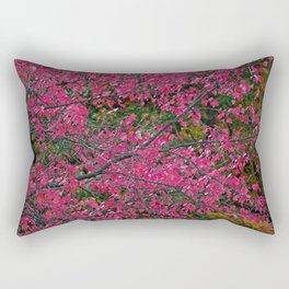 Dazzled by Red Rectangular Pillow