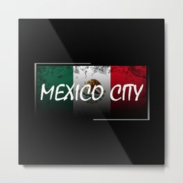 Mexico City Metal Print