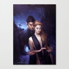 The Night Court Canvas Print