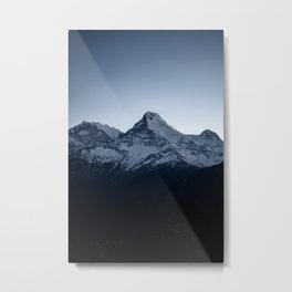 Snowy peaks of the Himalaya Metal Print