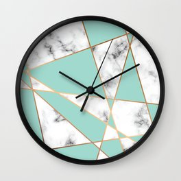 Marble Geometry 055 Wall Clock