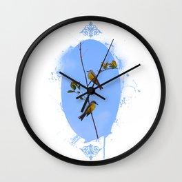 A fine pair Wall Clock