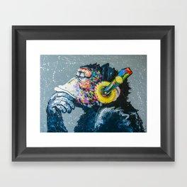 MELOMONKEY Framed Art Print