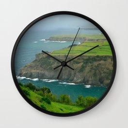 Coastal landscape Wall Clock
