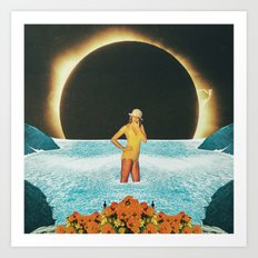 Strange dream Art Print