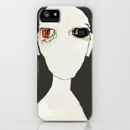 « le roi se meurt »  des mots de jean leloup iPhone Case