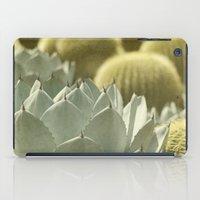 cactus iPad Cases featuring Succulent by Pure Nature Photos